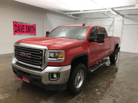 Pre-Owned 2017 GMC SLE Crew Cab Long Box