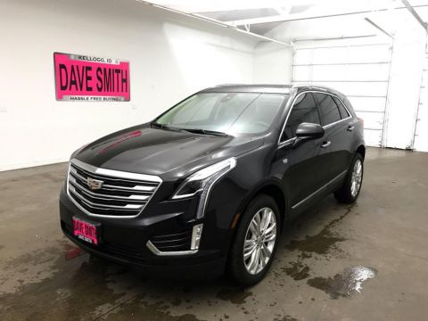 Pre-Owned 2017 Cadillac XT5 Premium Luxury FWD FWD Sport Utility