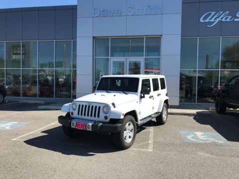 Pre-Owned 2011 Jeep Wrangler Unlimited Sahara 4WD Sport Utility