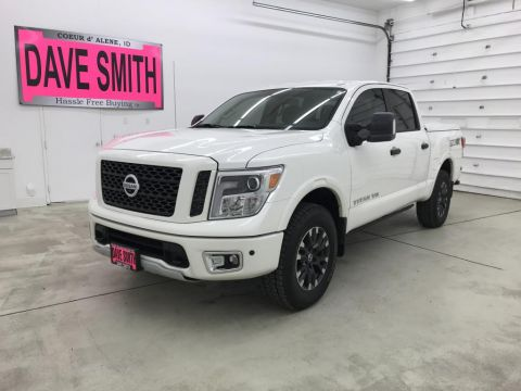 Pre-Owned 2018 Nissan PRO-4X Crew Cab Short Box