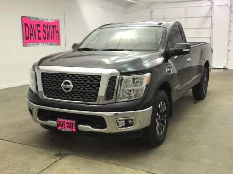 Pre-Owned 2017 Nissan SV Regular Cab Long Box