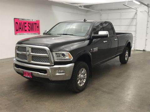 Pre-Owned 2017 Ram Laramie Crew Cab Long Box
