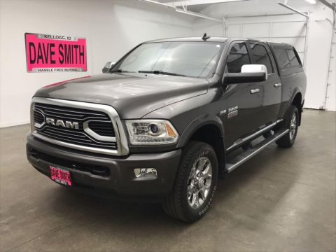 Pre-Owned 2016 Ram Longhorn Limited Crew Cab Short Box