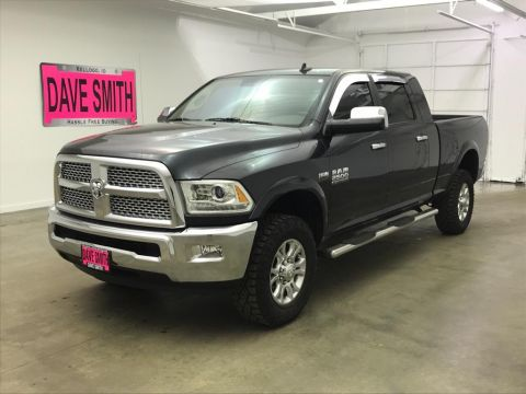 Pre-Owned 2015 Ram Laramie Mega Cab Short Box