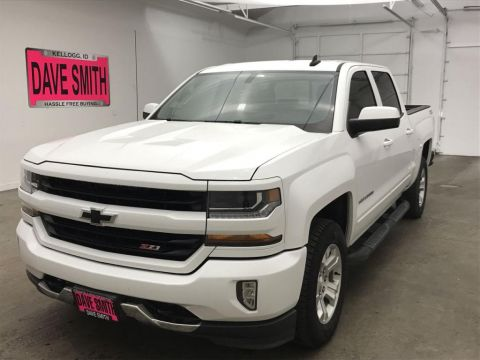 Pre-Owned 2017 Chevrolet LT Crew Cab Short Box