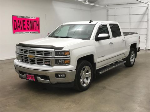 Pre-Owned 2015 Chevrolet LTZ Crew Cab Short Box