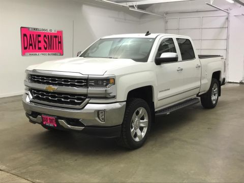 Pre-Owned 2017 Chevrolet LTZ Crew Cab Long Box