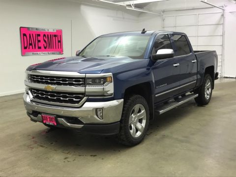 Pre-Owned 2017 Chevrolet LTZ Crew Cab Short Box