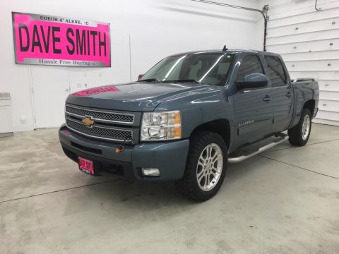 Pre-Owned 2013 Chevrolet LTZ Crew Cab Short Box