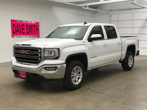 Pre-Owned 2018 GMC SLE Crew Cab Short Box