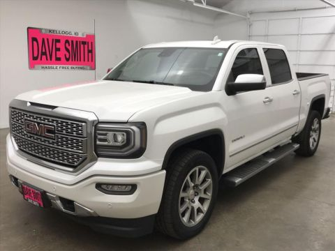 Pre-Owned 2018 GMC Denali Crew Cab Short Box
