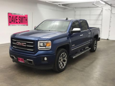 Pre-Owned 2015 GMC SLE Crew Cab Short Box