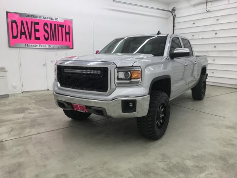 2015 GMC Sierra 1500 SLT Crew Cab Short Box
