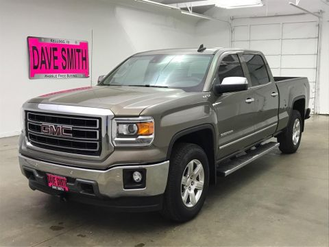 Pre-Owned 2015 GMC SLT Crew Cab Short Box