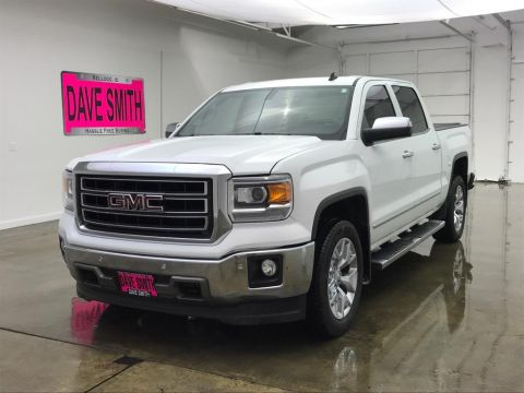 Pre-Owned 2014 GMC SLT Crew Cab Short Box
