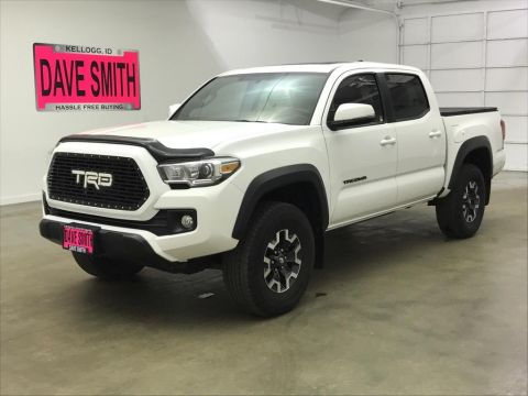 Pre-Owned 2017 Toyota TRD Double Cab Short Box