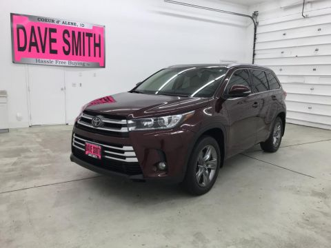 Pre-Owned 2018 Toyota Highlander Limited 4WD 4 Door Wagon