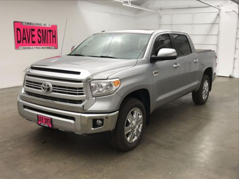 Pre-Owned 2015 Toyota Platinum Crew Cab Short Box