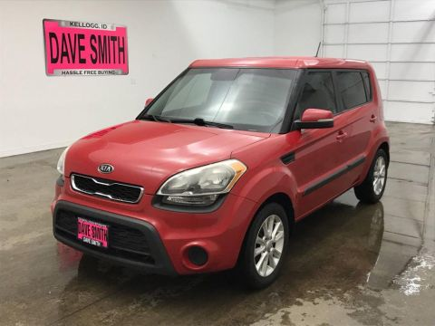Pre-Owned 2012 Kia Soul + FWD 4dr Car